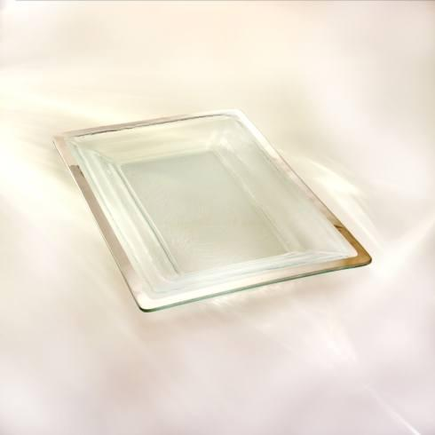 Annieglass  Roman Antique 18 3/4 x 12 1/4
