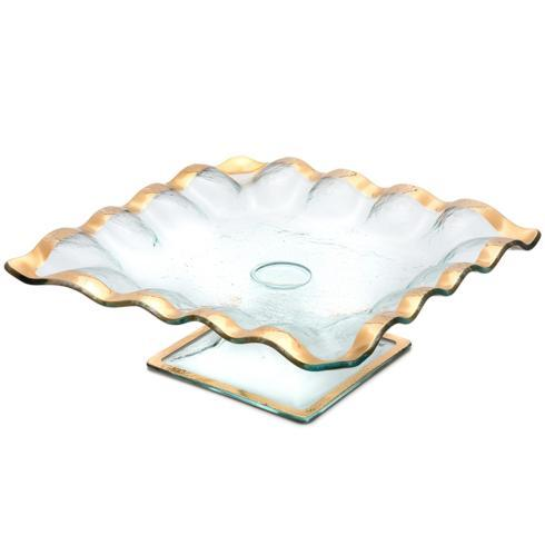 "$263.00 11 ½"" square cake stand"