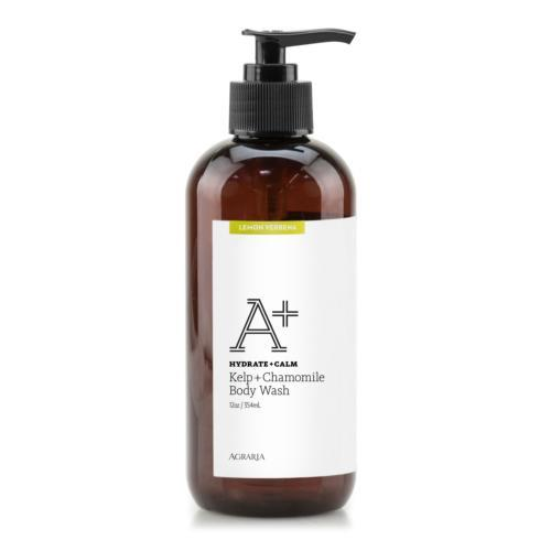$28.00 Lemon Verbena Kelp + Chamomile Body Wash 12oz