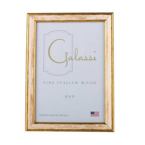 $27.00 Cream and Gold Frame 5x7