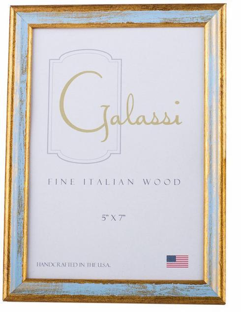 $27.00 Blue and Gold Frame 5x7