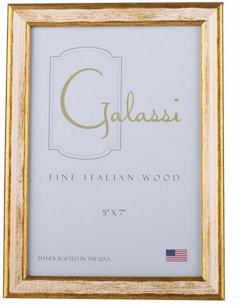 $35.00 Cream and Gold Frame 8x10