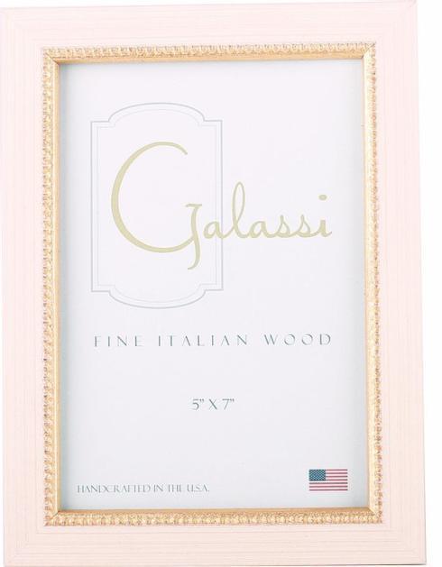 $27.00 Vanilla Gold Bead Frame 5x7