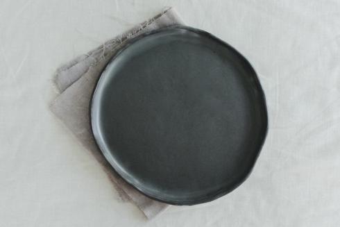 $56.00 Kinfolk Dinner Plate-Gunmetal
