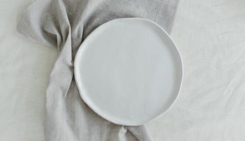 $56.00 Kinfolk Dinner Plate-White