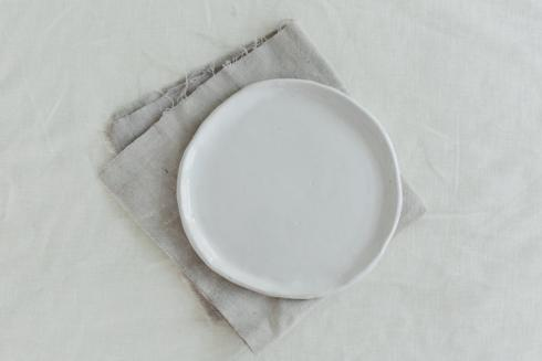 $38.00 Kinfolk Salad Plate-White