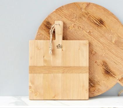 $95.00 Square Pine Charcuterie Board