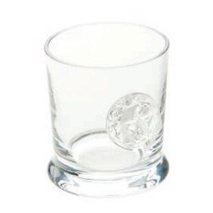 $92.00 Lionshead Double Old Fashioned with Medallion Glass, set of 4