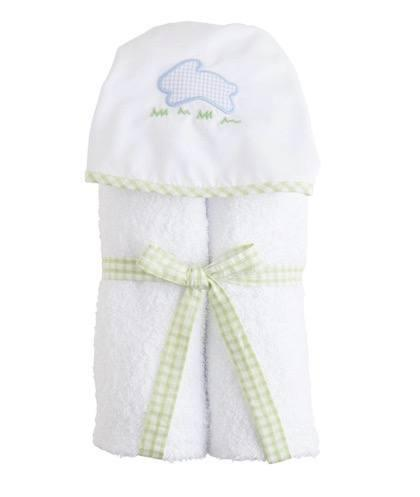 $44.00 Hooded Towel Blue Bunny