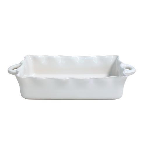 $77.50 Cook and Host Creme Ruffle Baker-Large