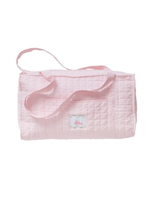 $68.00 Quilted Luggage Duffle Bunny