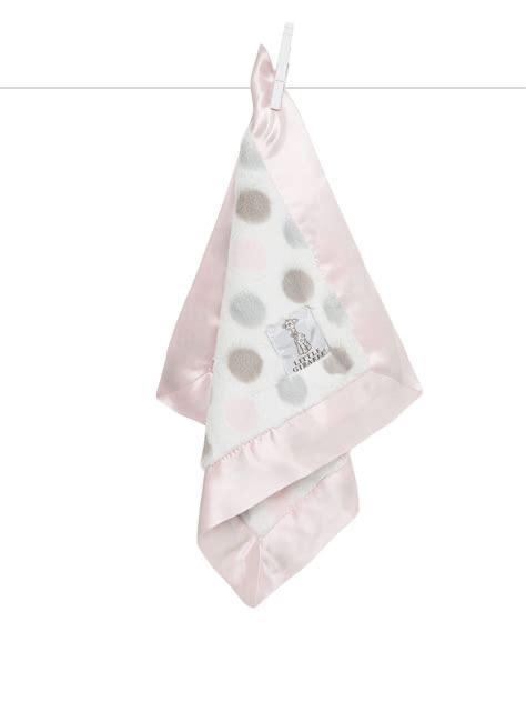 $52.00 Lux Dot Blankey Pink