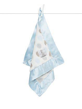 $52.00 Lux Dot Blankey Blue