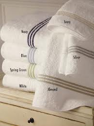 $43.00 Bel Tempo Hand Towel - Ivory