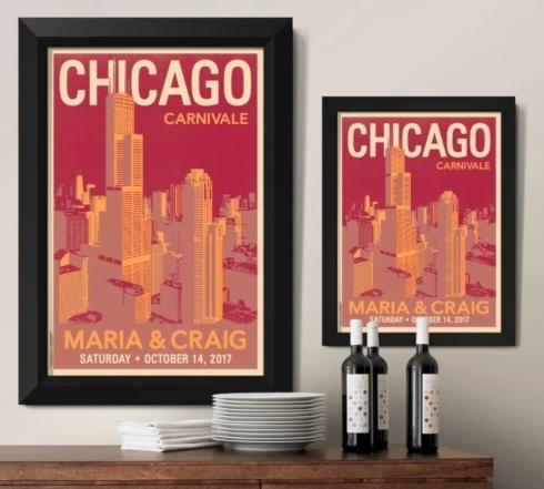 Downtown Chicago Framed Print