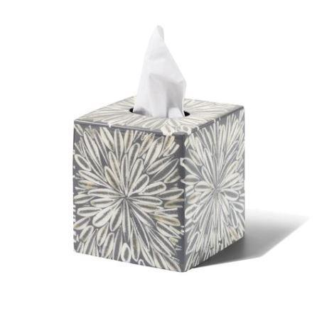 Gray Almendro Tissue Box