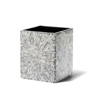 Gray Almendro Waste Basket