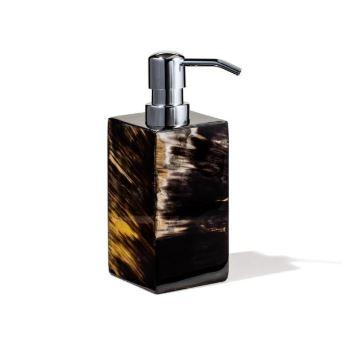 Horn Veneer Soap Dispenser