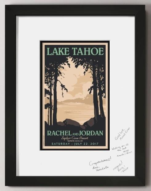 Lakeside Guest Signature Print