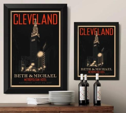 Cleveland Terminal Tower Framed Print