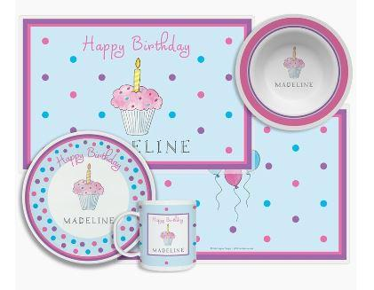$96.00 Birthday Cupcake 4 Piece Set