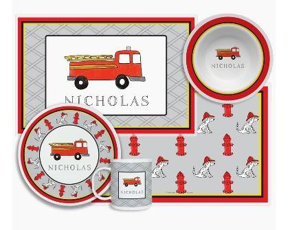 $96.00 Fire Truck 4 Piece Set