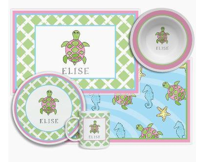 $96.00 Sea Turtle 4 Piece Set