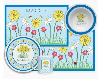 $96.00 Wildflowers 4 Piece Set