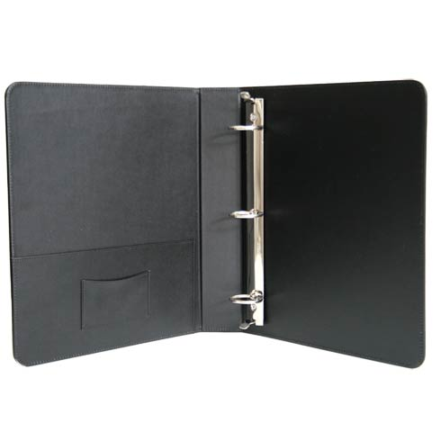 "$125.00 Leather 1.5"" Ring Binder"