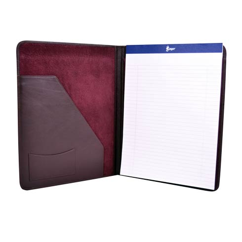 $245.00 Leather Deluxe Writing Padfolio