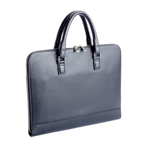 "$475.00 Leather 13"" Laptop Brief"