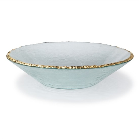 $305.00 Annieglass Edgey Round Bowl