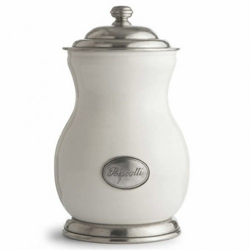 $348.00 Arte Italica Biscotti Jar
