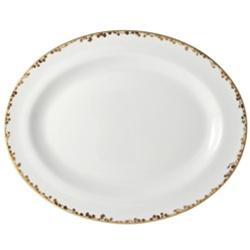 """$330.00 Medium Oval Platter 13"""""""