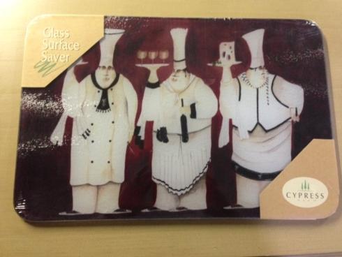 $25.00 Counter Art Cutting Board