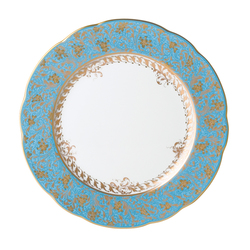 $130.00 Eden Turquoise Bread and Butter