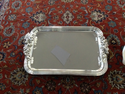 Fantin Silverplate Tray collection with 1 products