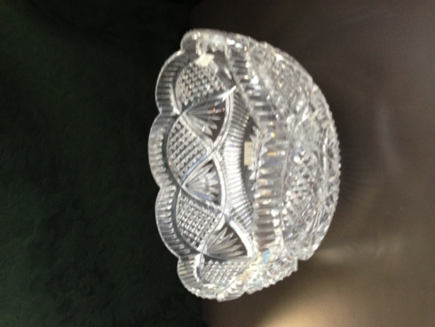 $504.00 Cut Crystal Bowl
