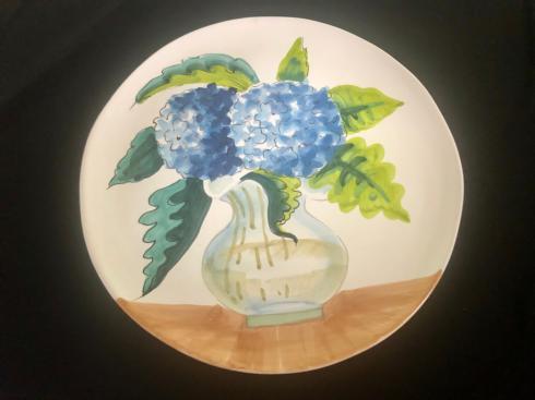 $85.00 Hydrangea Wall Plate