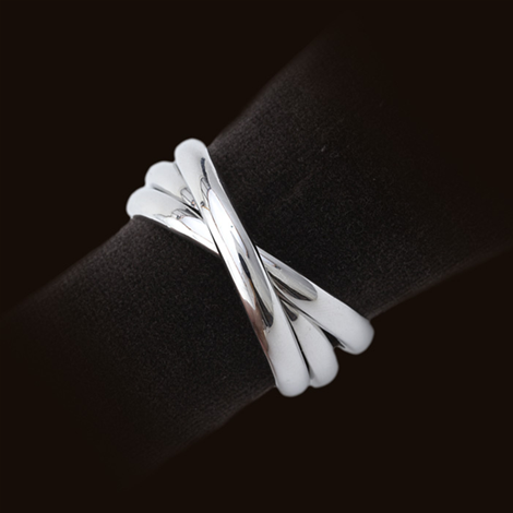 $115.00 Three-Ring Napkin Ring