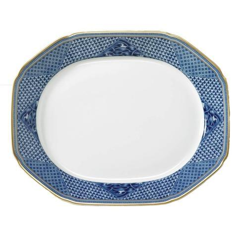 Serving Platter Indigo