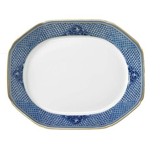 $250.00 Serving Platter Indigo
