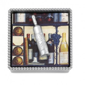 $48.00 Napkin Holder w/Wine Bottle