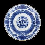 $80.00 Mottahedeh Imperial Blue Dessert