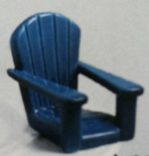 $12.50 Blue Chair Mini