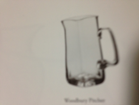 Woodbury Pitcher collection with 1 products