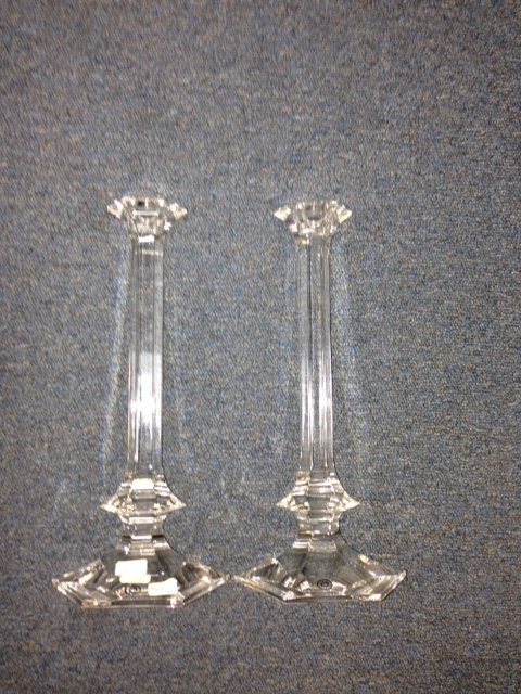 $430.00 Elysee Candlesticks PAIR