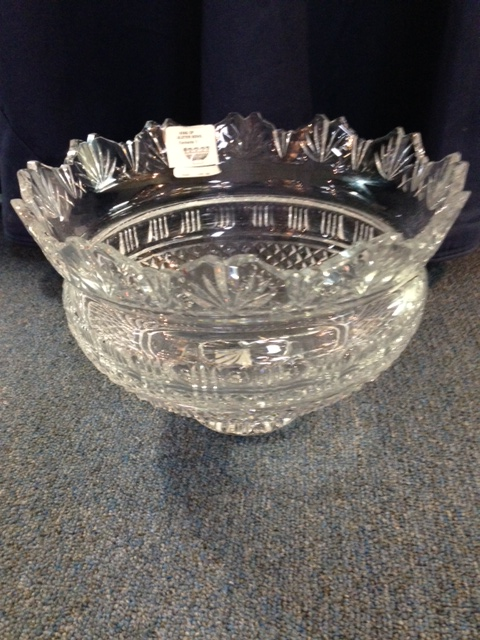 $695.00 Waterford Kings Bowl