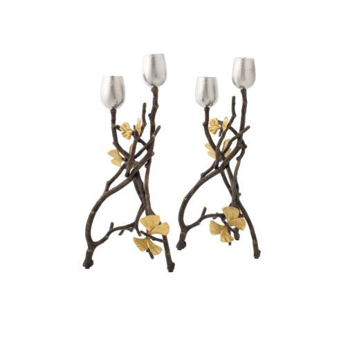 Alioto's Exclusives   Aram Butterfly Candlesticks $300.00