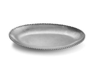 """$120.00 Aram Molten Frost 13"""" Platter"""